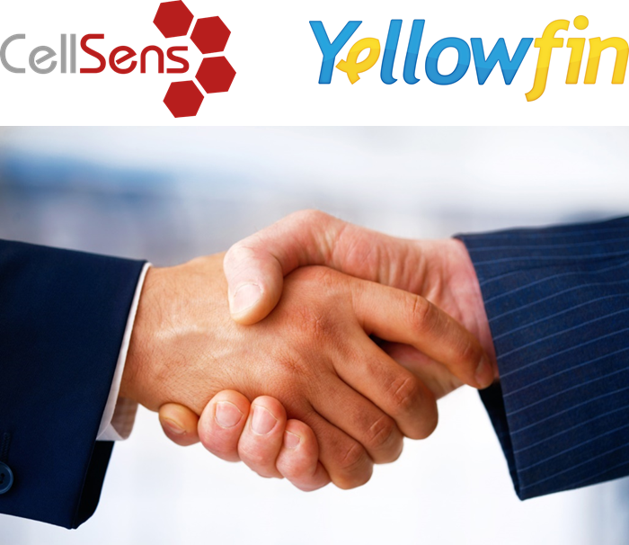 Cellsens and Yellowfin Partnership