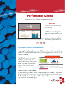 Performance Alarm Image